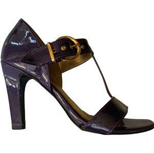 Vizzano Purple Patent Leather Heels